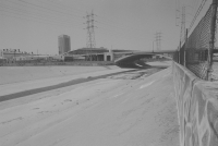 Los Angeles – Skidrow/ LA River bank.