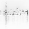 Shanghai in white