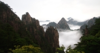 Huangshan – Summer clouds.
