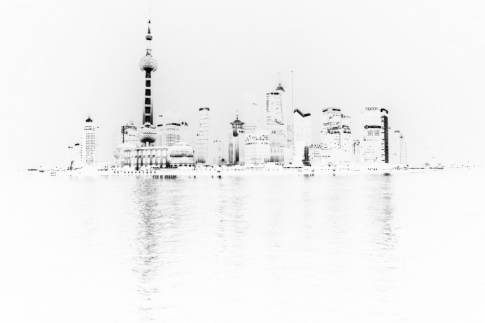full black white shanghai
